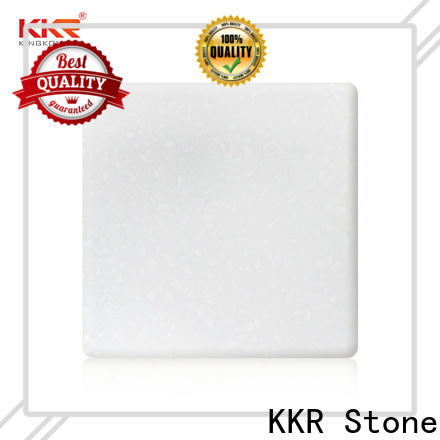 KKR Stone hot-sale solid surface acrylics superior chemical resistance for bar table