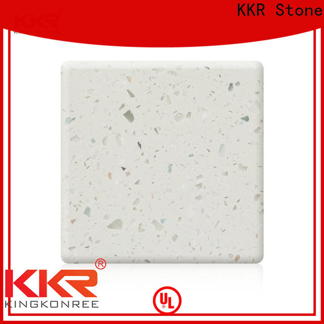 KKR Stone artificial solid surface certifications for kitchen tops
