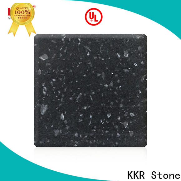 KKR Stone anti-pollution modified acrylic solid surface superior bacteria for self-taught