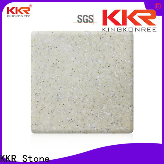 KKR Stone newly solid surface factory superior bacteria for self-taught