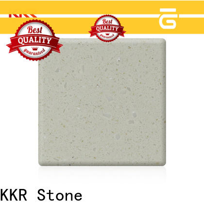 KKR Stone lassic style solid surface supplier for kitchen tops