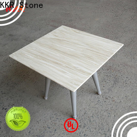 artificial marble dining table surface