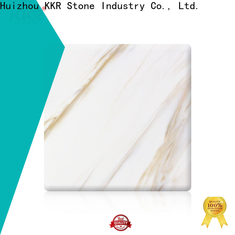 KKR Stone acrylic building material supplier for entertainment