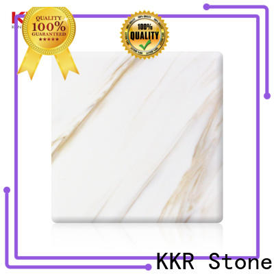 KKR Stone sheets solid surface panels manufacturer for bar table