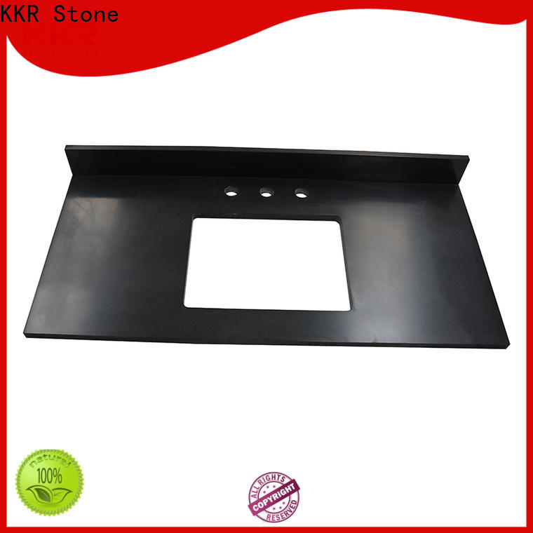 KKR Stone solid bathroom vanity tops China for home