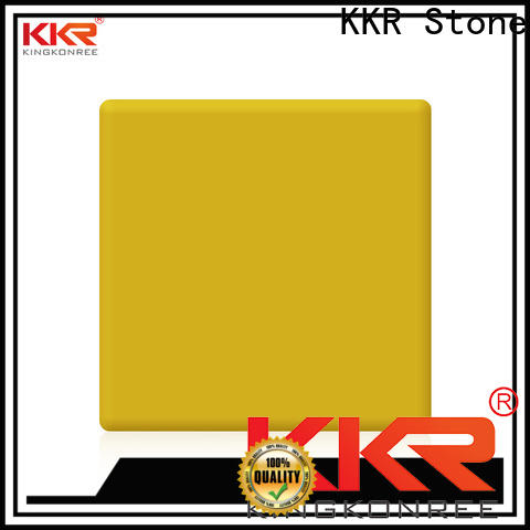 KKR Stone thickness solid surface acrylics superior stain for kitchen tops