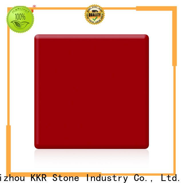 KKR Stone solid solid surface vendor for school building