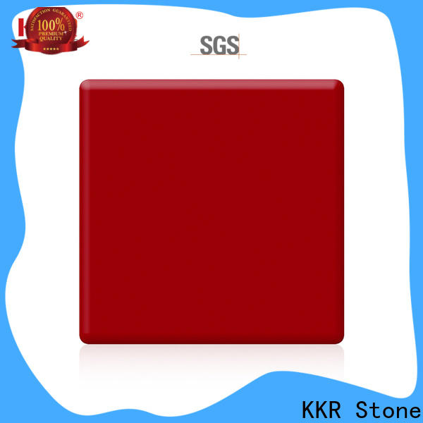 KKR Stone thickness modified acrylic solid surface superior bacteria for worktops