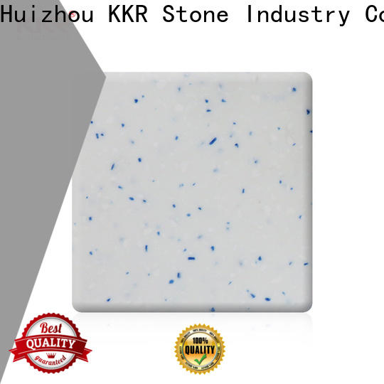 anti-pollution modified acrylic solid surface glacier superior stain for kitchen tops