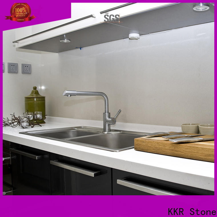 KKR Stone silky wholesale kitchen countertops for entertainment
