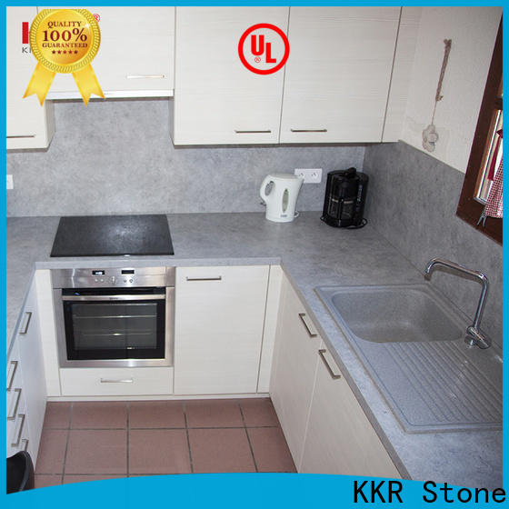 KKR Stone solid solid kitchen countertops supply for bar table