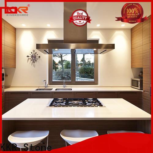 KKR Stone artificial wholesale kitchen countertops wholesale for shoolbuilding