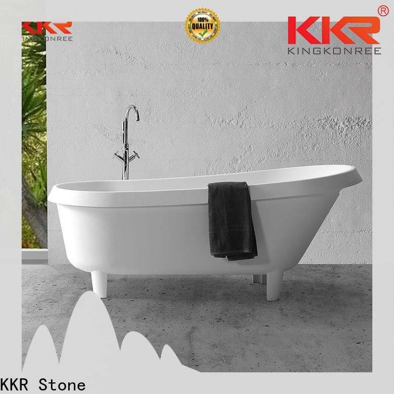 KKR Stone solid surface shower producer for home