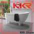 KKR Stone acrylic free standing bath tubs supply for school building