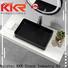 KKR Stone corian kitchen countertops bulk production for table tops