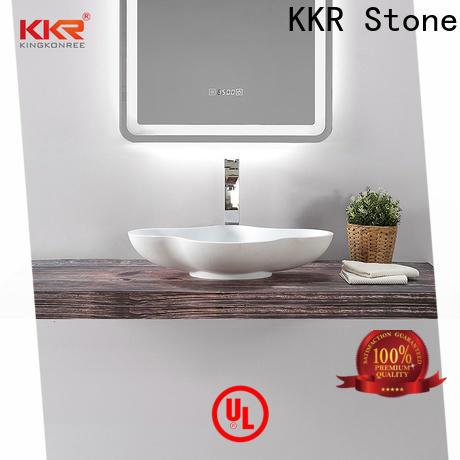 KKR Stone easy to clean corian countertops colors custom-design for worktops