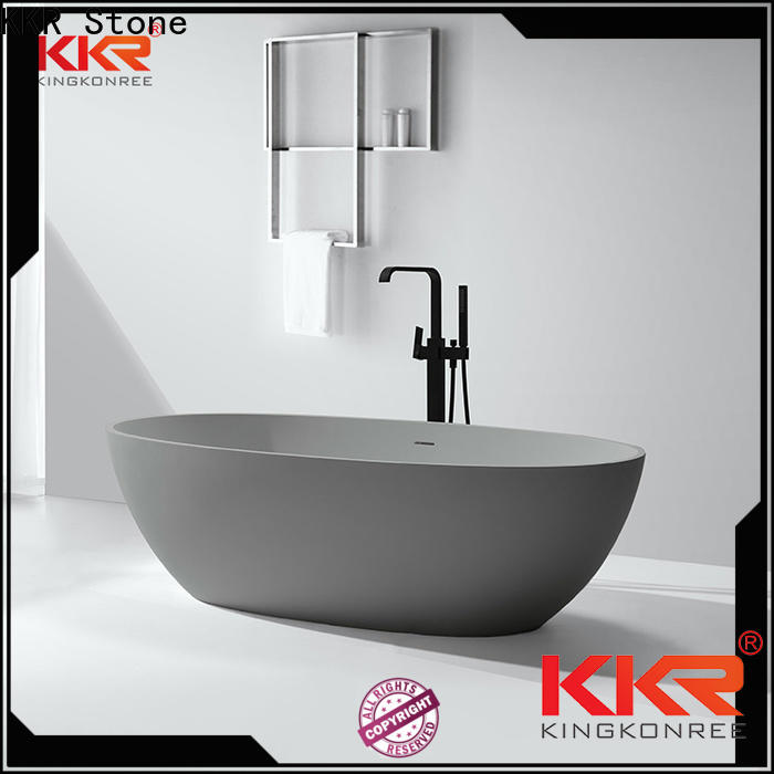KKR Stone acrylic solid surface tub factory price for worktops