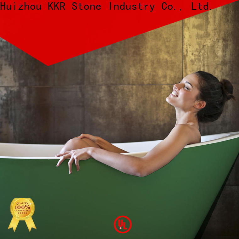KKR Stone solid surface shower pan manufacturer for early education