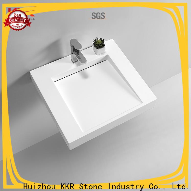KKR Stone high tenacity bathroom furniture bulk production for school building