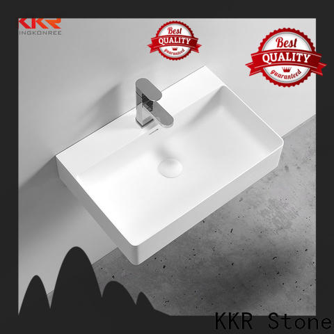 easy to clean corian sink in good performance for school building