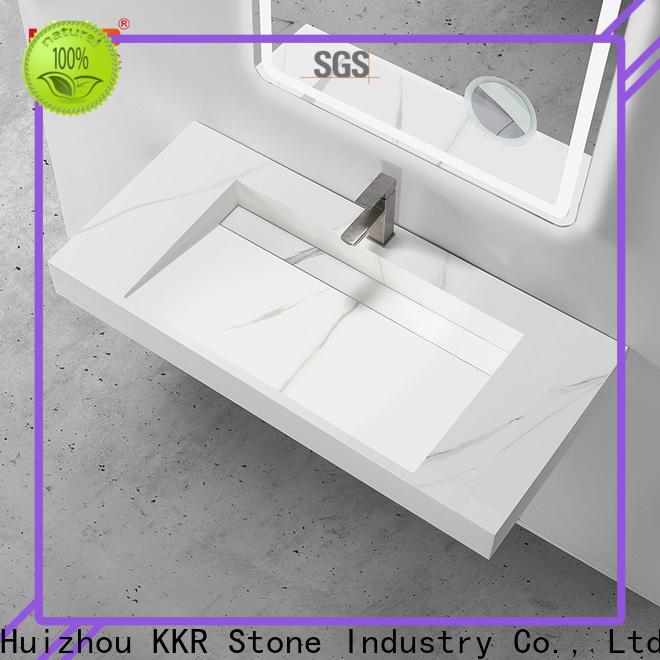 KKR Stone corian basin vendor for school building