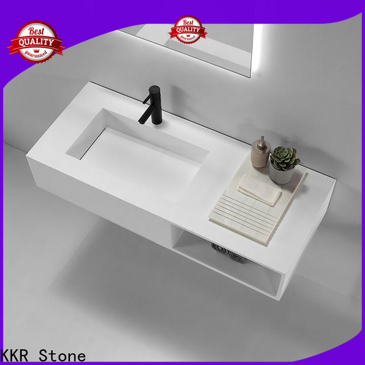 KKR Stone corian kitchen countertops in good performance for table tops
