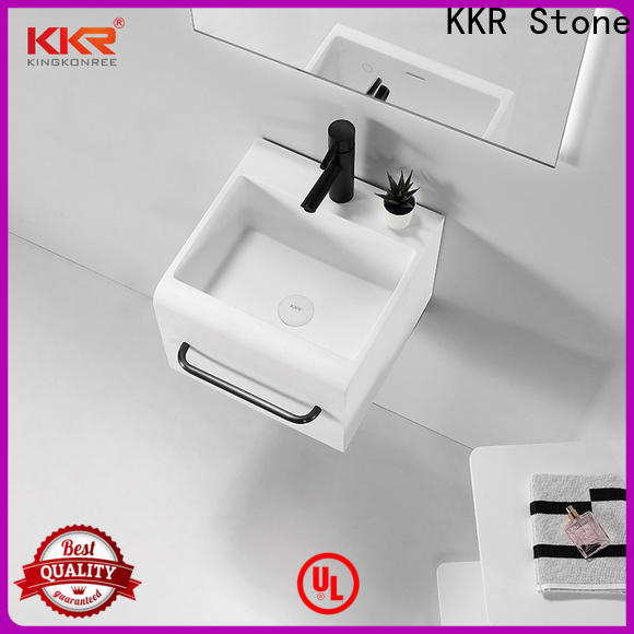 KKR Stone modern corian kitchen countertops in special shapes for home