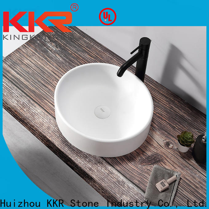 KKR Stone lassic style countertop basin in good performance for worktops