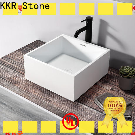 KKR Stone bathroom vanity with sink vendor for school building