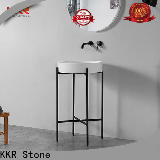 KKR Stone solid surface wash basin in good performance for kitchen tops