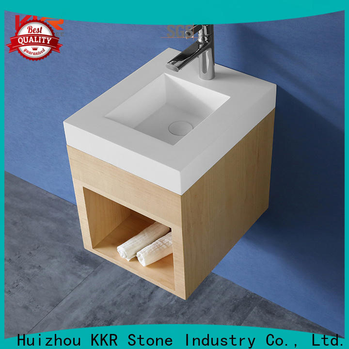KKR Stone undermount kitchen sink in special shapes for school building