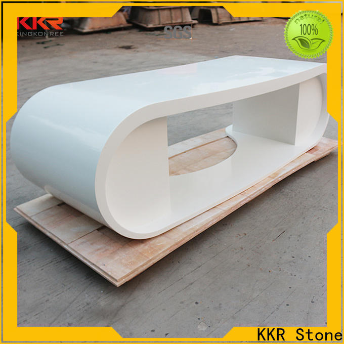 KKR Stone fashion design reception desk countertop widely-use for building