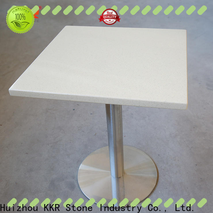 KKR Stone acrylic solid surface table top