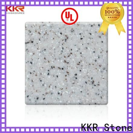 KKR Stone sheets acrylic solid surface sheets for building