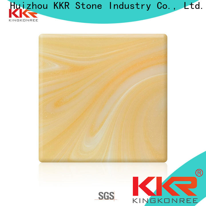 KKR Stone modern art style translucent resin panel at discount for home