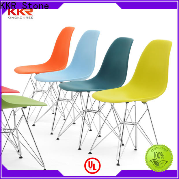 KKR Stone new-arrival plastic chairs wholesale widely-use for outdoor