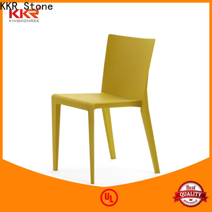 KKR Stone dining plastic chairs for sale type for school