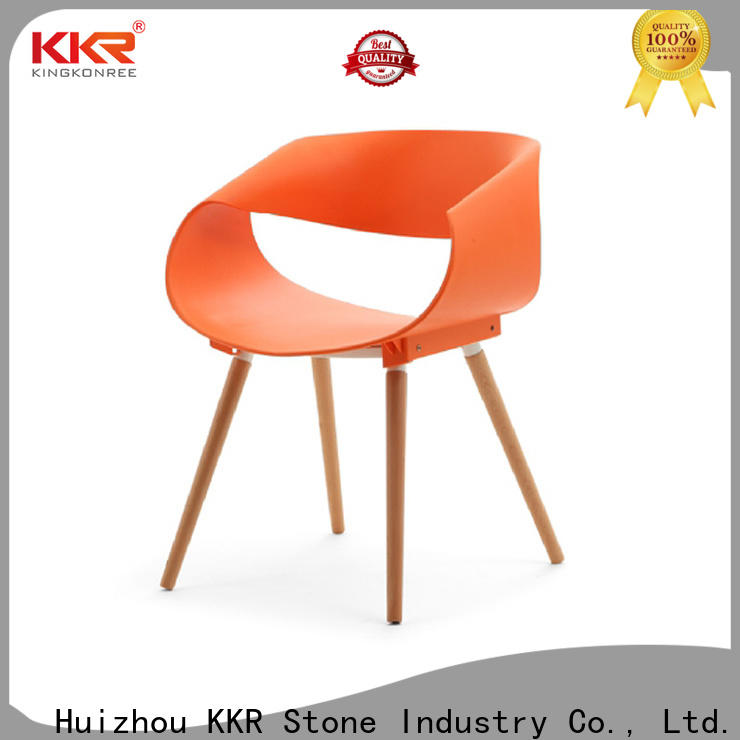 KKR Stone price small plastic chair owner for garden