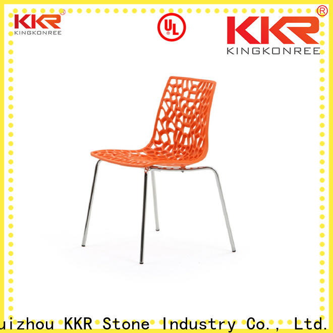 KKR Stone easily repairable dining chairs cost for outdoor