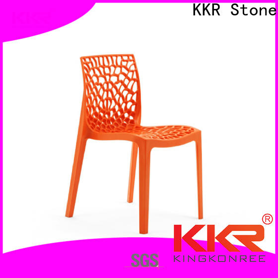 KKR Stone Warm touch dining chairs widely-use for school