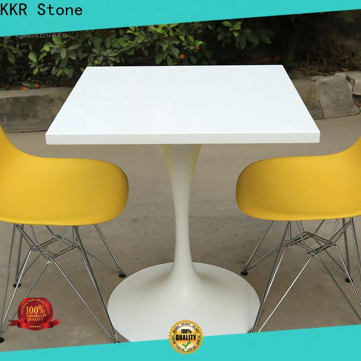 KKR Stone acrylic wall mounted bar countertop