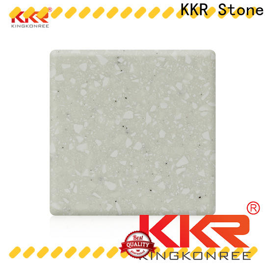 KKR Stone festival solid surface factory superior chemical resistance furniture set