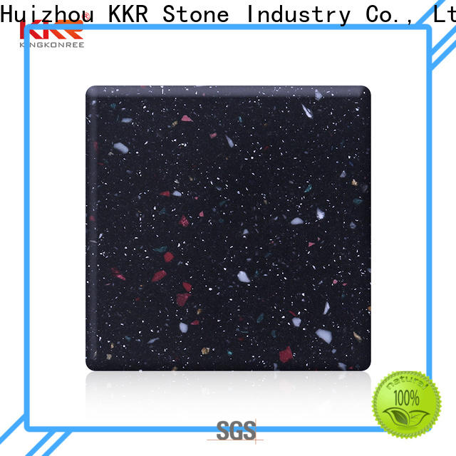 KKR Stone artificial modified acrylic solid surface superior stain for self-taught