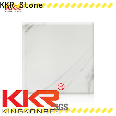 flame-retardant solid surface panels black supply for school building