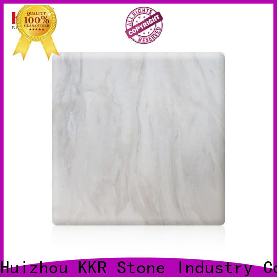 KKR Stone solid solid surface panels wholesale for entertainment