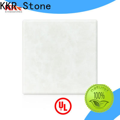 non-polluting translucent solid surface material yellow directly sale for entertainment
