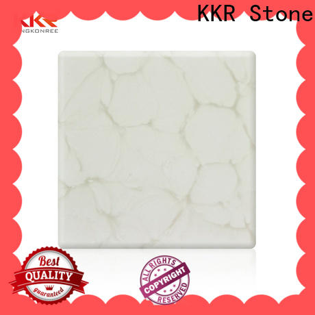 high strength translucent stone panel quality bulk production for garden table