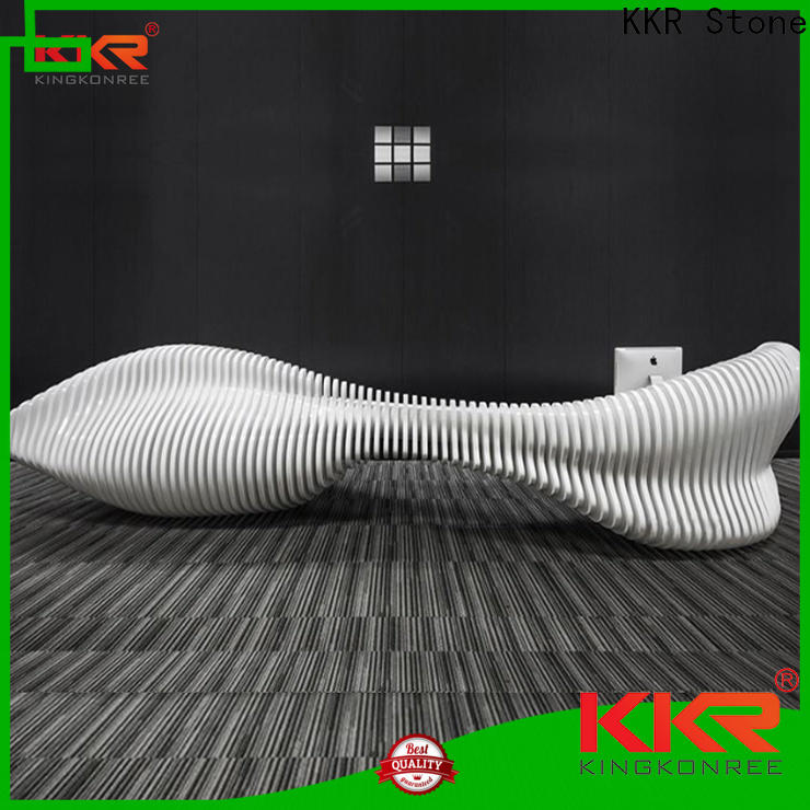 KKR Stone table office furniture supplier for entertainment