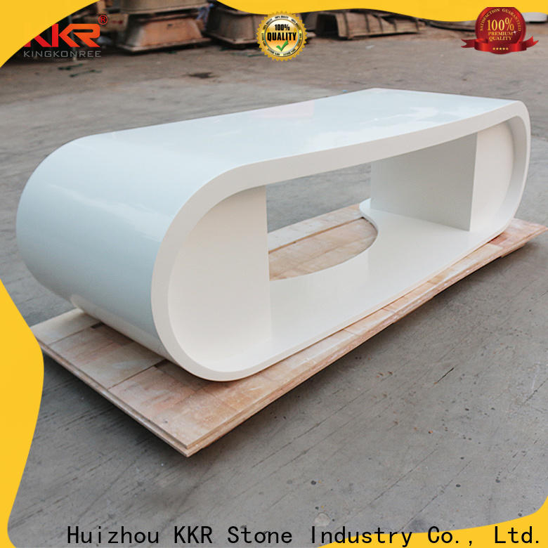KKR Stone fashion design acrylic solid surface worktops order now for building