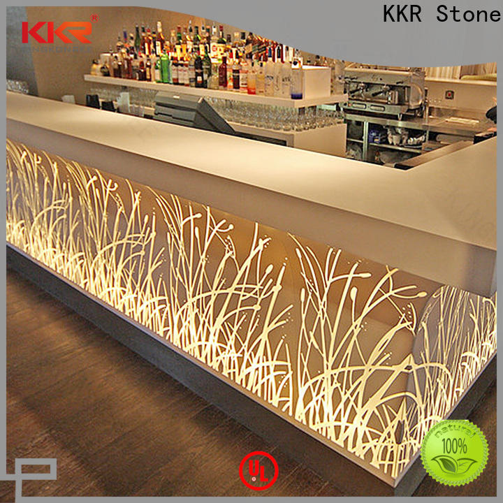 KKR Stone artificial marble dining table